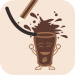 Happy Coffee Glass 1.2.3 APK MODs Unlimited Money Hack Download for android