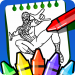 Superheroes spider coloring book 2020 2.2.0 APK MODs Unlimited Money Hack Download for android