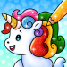 Unicorn Coloring Book Free Glitter Coloring Games 1.0.4 APK MODs Unlimited Money Hack Download for android