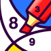 BATIQ Coloring book by number Color Therapy 1.5.3.0 APK MODs Unlimited Money Hack Download for android