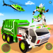 Flying Garbage Truck Robot Transform Robot Games 20 APK MODs Unlimited Money Hack Download for android