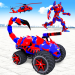 Scorpion Robot Monster Truck Transform Robot Games 9 APK MODs Unlimited Money Hack Download for android
