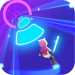 Cyber Surfer Free Game the Rhythm Knight 0.1.00 APK MODs Unlimited Money Hack Download for android