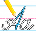 Kids Learn Cursive Writing – Cursive For Toddlers 10.0 APK MODs Unlimited Money Hack Download for android