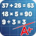 Math problems mental arithmetic game 3.42 APK MODs Unlimited Money Hack Download for android